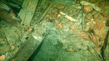 Prie Švedijos krantų rastos dviejų nuskendusių XVII amžiaus karinių burlaivių liekanos