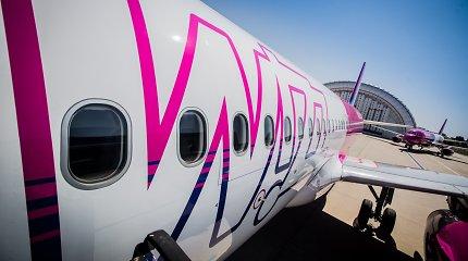 """""""Wizz Air"""" skelbia apie pirmuosius atnaujinamus skrydžius iš Lietuvos"""