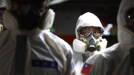 Taivanas atšaukia naujametinę žibintų šventę dėl reto koronaviruso protrūkio saloje