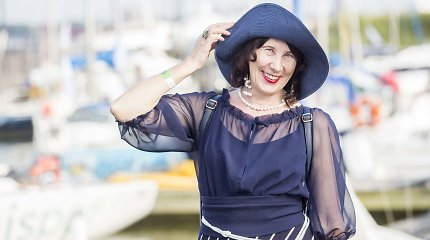 """Zita Tallat-Kelpšaitė: """"O juk kadaise buvau bene vienintelė su skrybėle"""""""