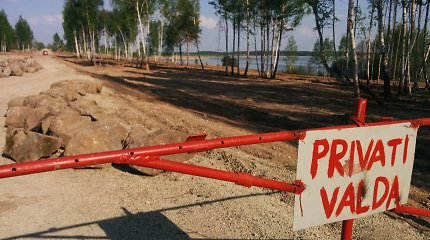 Šiaulių apylinkėse vandens telkinių pakrantės nyksta lyg miražas