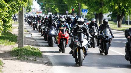 Motociklų kolona Kaune amžinybėn išlydėjo girto vairuotojo pražudytą 22-ejų motociklininką