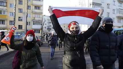 Baltarusijoje sulaikyti dešimtys opozicijos protestuotojų, 5 žurnalistai