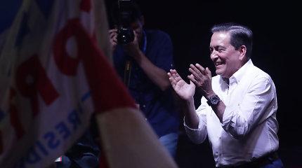 Panamos prezidento rinkimų laimėtoju patvirtintas L.Cortizo
