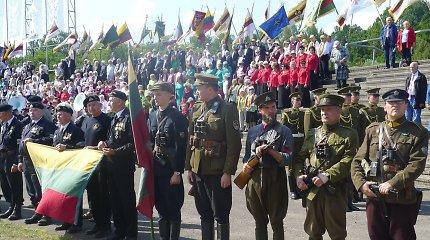 Giedrius Paulauskas ir jo atkuriama partizanų uniforma