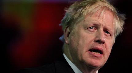 Į valdžią atėjus B.Johnsonui, svaro kursas gali smukti 2 proc.