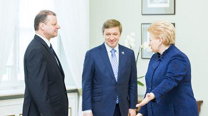 Politinė krizė be S.Skvernelio: lemiamas sprendimas gali būti dar D.Grybauskaitės rankose