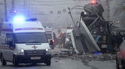 Rusijos specialiosios tarnybos paskelbė, kas surengė teroro aktus Volgograde