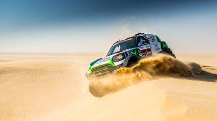 Keturi Lietuvos ekipažai pasiekė Dakaro ralio finišą automobilių įskaitoje