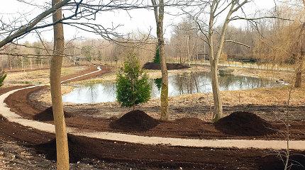 Sutvarkyta Danės senvagė Klaipėdoje virs Rytų sodu