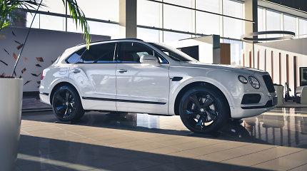 """""""Bentley Bentayga Hybrid"""" jau atvyko į Lietuvą: kaip atrodo įkraunamas iš tinklo žvėris"""