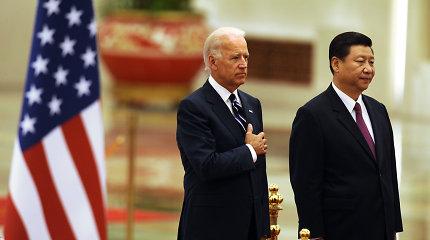 Kinijos prezidentas dalyvaus J.Bideno viršūnių susitikime dėl klimato
