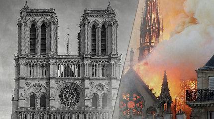 Prancūzijos parlamentarai pritarė įstatymui dėl greito Dievo Motinos katedros atstatymo