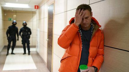 Rusijoje atliktos kratos A.Navalno biure, bet Kremliaus kritikas liko laisvėje