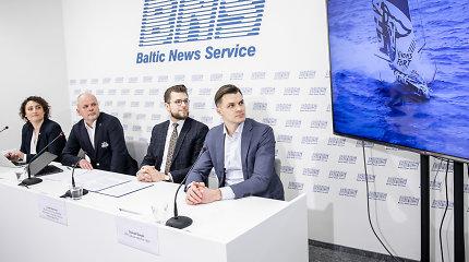 """Davose pristatyta """"Ambersail 2"""" ir YPO partnerystė – naujos galimybės Lietuvos ekonominių ryšių plėtrai"""
