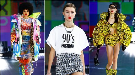 """""""Dolce & Gabbana"""" užbaigė Milano mados savaitę: sukūrė ryškių spalvų ir blizgesio kupiną disko šou"""