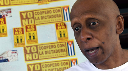 Kubos aktyvistas G.Farinasas ragina Lietuvą blokuoti ES ir Havanos susitarimą