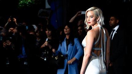 Holivudo žvaigždė Jennifer Lawrence