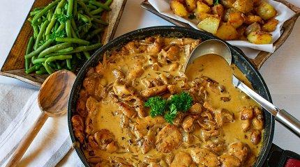 Šaltojo savaitgalio valgiaraštis: verdame sriubas, troškinius, kepame kugelį ir bandeles