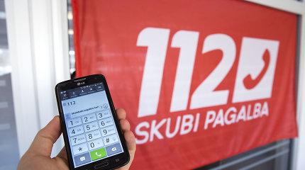 Greitosios pagalbos skambučiai numeriu 112 bus nukreipiami nuo 2020-ųjų