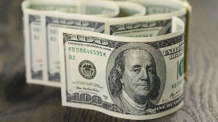 JAV doleris euro atžvilgiu išlieka stabilus, stiprėja jenos atžvilgiu