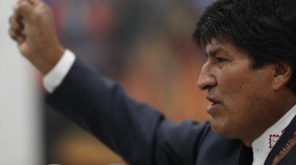 E.Moralesas nori JT tarpininkavimo Bolivijoje