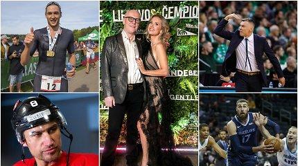 Sporto milijonieriai: dviratininkė ir triatlonininkas aukščiau krepšinio žvaigždžių