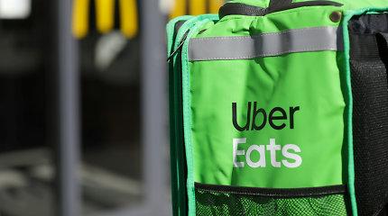 """""""Carrefour"""" vienija jėgas su """"Uber Eats"""", kad aprūpintų Prancūzijos gyventojus maistu"""