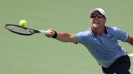 """Ispano antausis – """"riestainį"""" gavęs Ričardas Berankis iškrito iš """"US Open"""""""