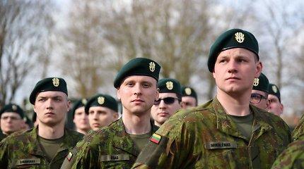 Kariuomene pasitiki vis daugiau lietuvių