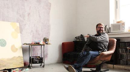 Svečiuose pas menininkus: žvilgsnis į Lino Liandzbergio kūrybines dirbtuves