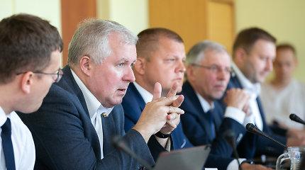 D.Gaižauskas opozicijos atstovą pagrasino išvaryti iš komiteto posėdžio