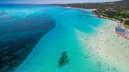 Vienas gražiausių Italijoje – Pelosa paplūdimys
