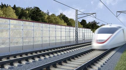 """Kyla rizika dėl """"Rail Baltica"""" neįgyvendinimo laiku, rodo auditas"""