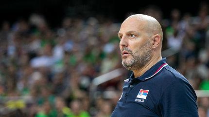 Emocijos Kinijoje: serbų rinktinės treneris atsistatydino, čekų – susigraudino