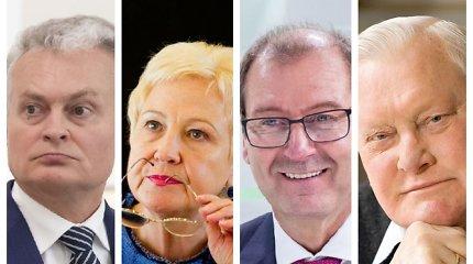 Testas: ar žinote, ką šie 12 Lietuvos politikų kadaise dirbo visą dieną?