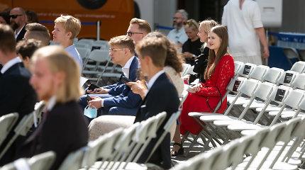 Dviem dešimtims abiturientų – signatarų stipendijos