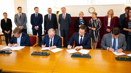 Susipažinkite su koalicijos sutartimi: partijos pasidalijo postus, S.Skvernelio pavardės sutartyje nėra