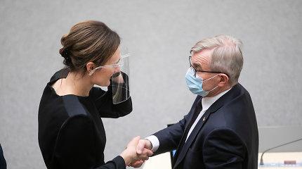 Koronavirusu užsikrėtė Viktoras Pranckietis, septyni liberalai gavo neigiamus atsakymus, E.Gentvilas tebelaukia