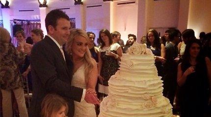 Paviešintos Britney Spears sesers dainininkės Jamie Lynn Spears vestuvių nuotraukos