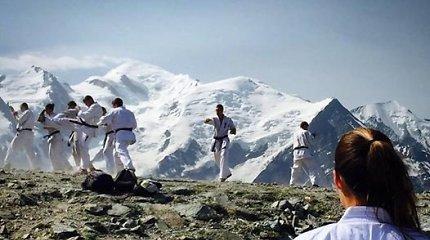 Pasirengimą pasaulio čempionatui Lietuvos kiokušin karatė rinktinė pradėjo Šveicarijoje