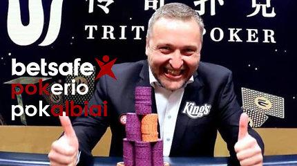 Videointerviu: Antanas Guoga apie savo grįžimą į didžiąją pokerio areną