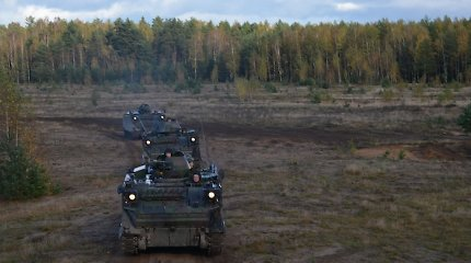 Kariuomenės Sausumos pajėgose steigiama antra motorizuotoji pėstininkų brigada