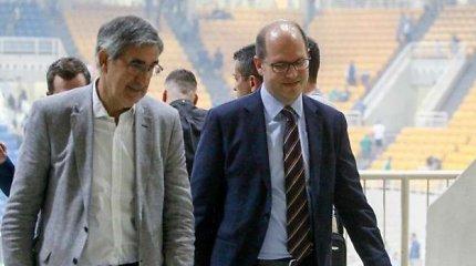 Atėnuose pirmą kartą susitiko FIBA ir Eurolygos vadovai