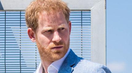 Princas Harry teigia neturėjęs kito pasirinkimo kaip tik nutraukti karališkuosius ryšius