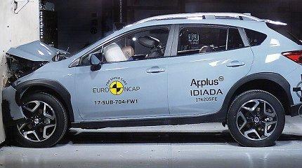 """""""Euro NCAP"""" sudaužė naujutėlaitį """"Subaru XV"""""""