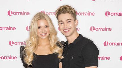 Britų šokėjai AJ Pritchardas ir Abbie Quinnen