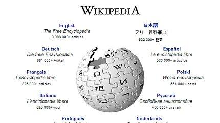 """Rusija užsimojo sukurti alternatyvą enciklopedijai """"Wikipedia"""""""