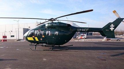 Iš Kauno į Vilnių sraigtasparniu gabenta donoro širdis