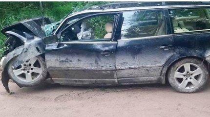 Per avariją Kretingos rajone sužaloti žmonės